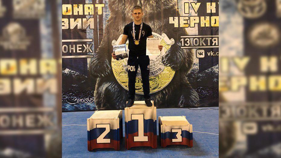 Хохольский тяжелоатлет выиграл золотую медаль на чемпионате Евразии по пауэрлифтингу