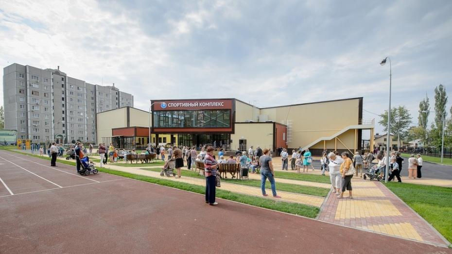 Спорткомплекс в воронежском микрорайоне Придонской откроется в конце сентября