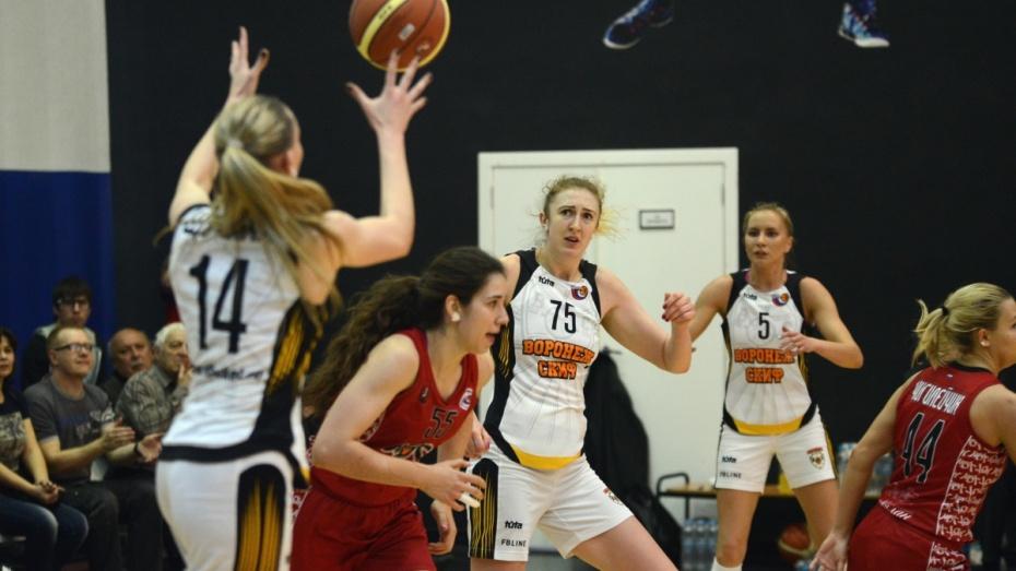 Баскетбольный «Воронеж-СКИФ» вылетел из плей-офф в четвертьфинале Суперлиги