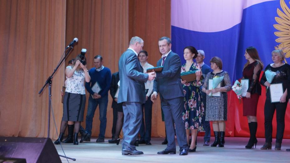 В Хохольском районе 17 работников сферы АПК получили благодарности Минсельхоза РФ