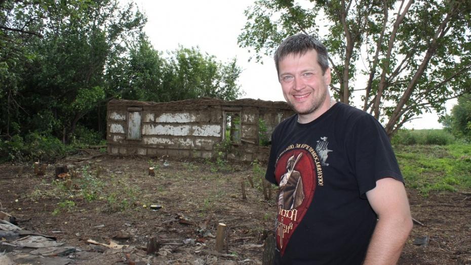 Житель Подмосковья восстановит родовое гнездо в Терновском районе