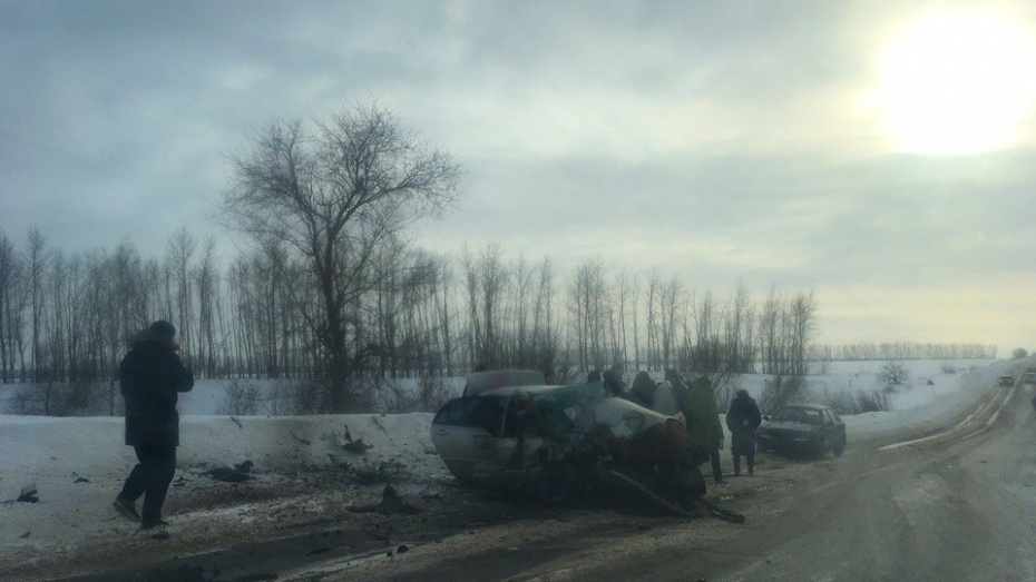Отец ссыном разбились вавтокатастрофе под Воронежем