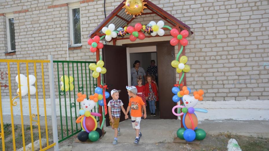 В поворинском селе Самодуровка открыли дошкольную группу