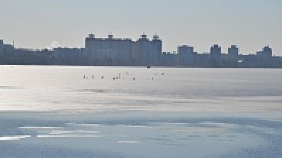 Воронежские рыбаки: под лед проваливаются только пьяные и глупые