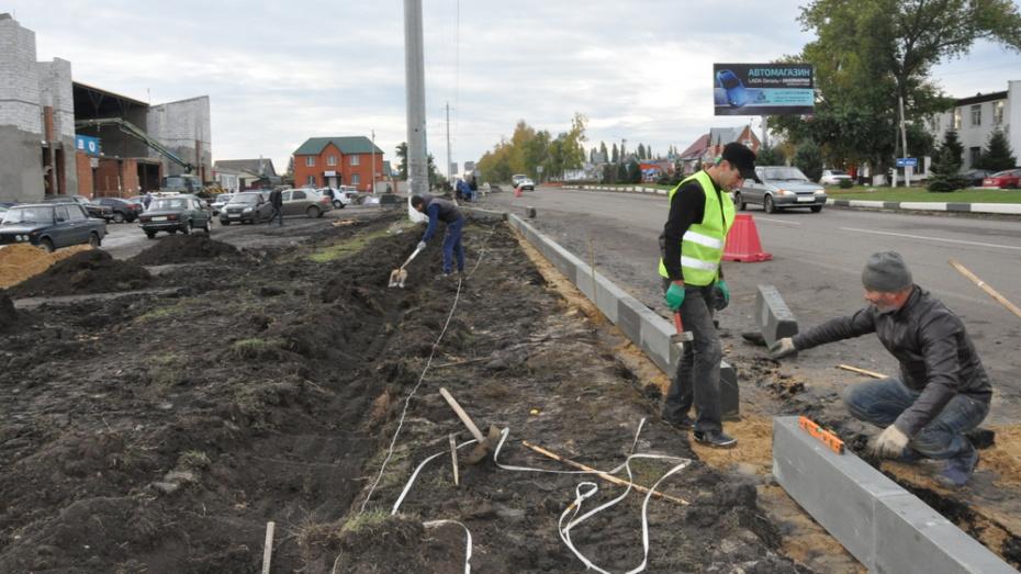 В Эртиле на ремонт части рыночной площади направили 2,7 млн рублей