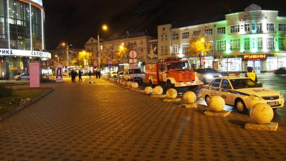 В Воронеже за вечер эвакуировали посетителей 9 зданий