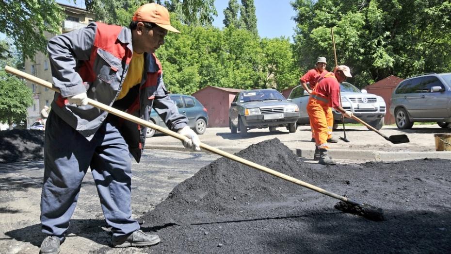 Мэрия Воронежа потратит на ремонт дорог почти 900 млн рублей