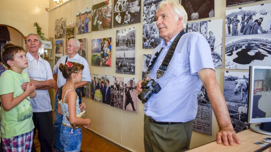 В лискинском музее открылась фотовыставка