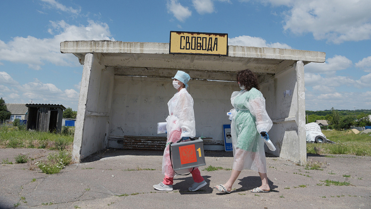 Репортаж РИА «Воронеж». Как голосовала Свобода