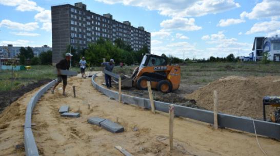 В Острогожске построят парк с веревочным городком