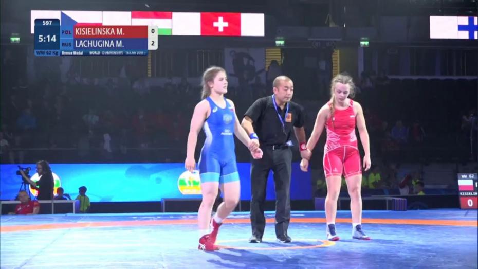 Воронежская спортсменка взяла «бронзу» на первенстве мира по борьбе