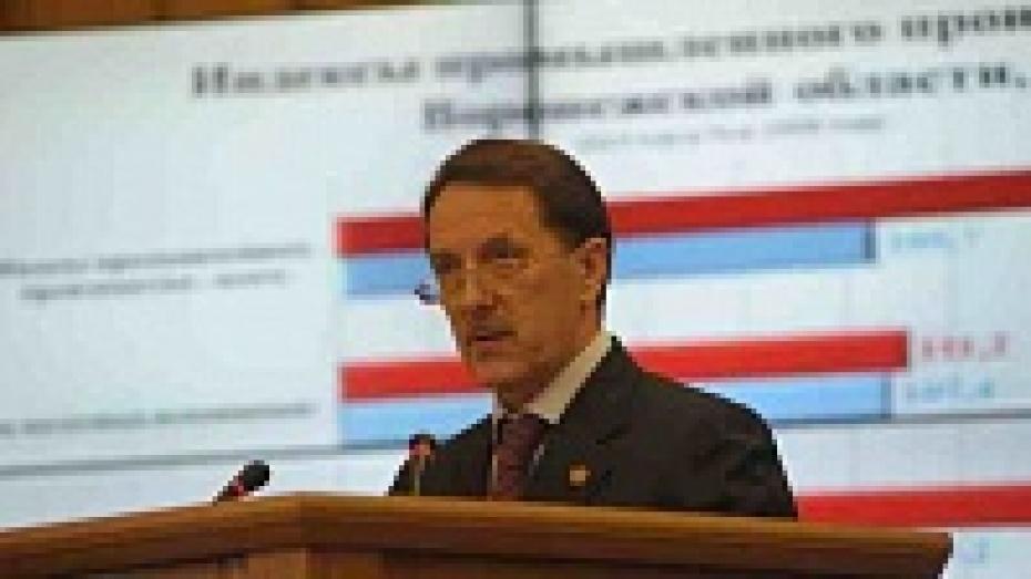 Алексей Гордеев: «Воронежская область занимает первое место в стране по темпам развития промышленности»