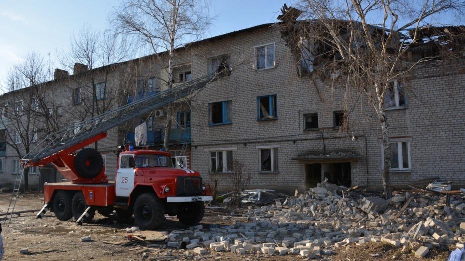 Восстановление квартир, разрушенных при взрыве газа в Россоши, начнется завтра