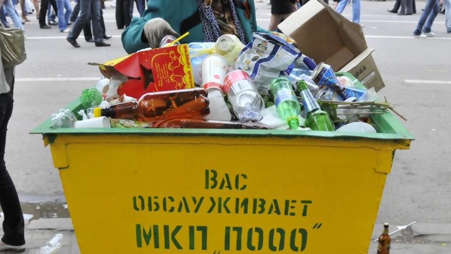 Все районы Воронежа получат контейнеры для раздельного сбора ТБО до конца 2021 года