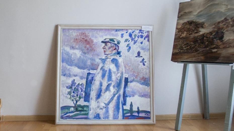 Лискинскому музею московский художник Олег Савостюк подарил свою картину