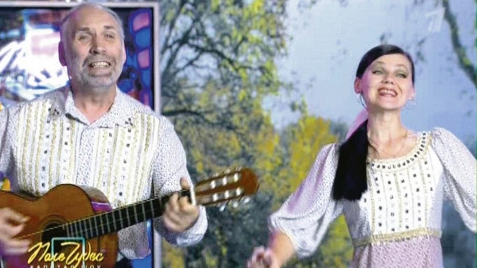 Грибановский ансамбль «Сельские зори» принял участие в телепередаче «Поле чудес»