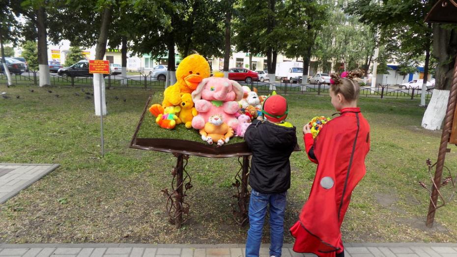 В Борисоглебске добровольцы объявили сбор детских игрушек