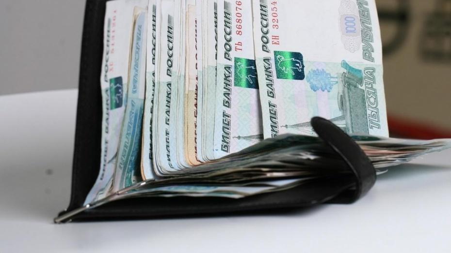 За год зарплата в Воронежской области выросла на 2,2 тыс рублей