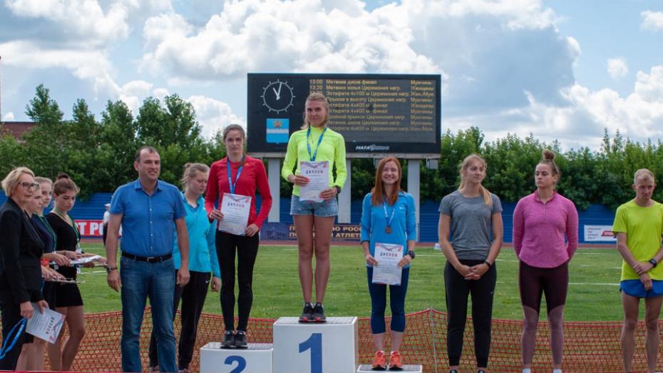 Воронежские легкоатлетки завоевали 3 призовых места на первенстве России