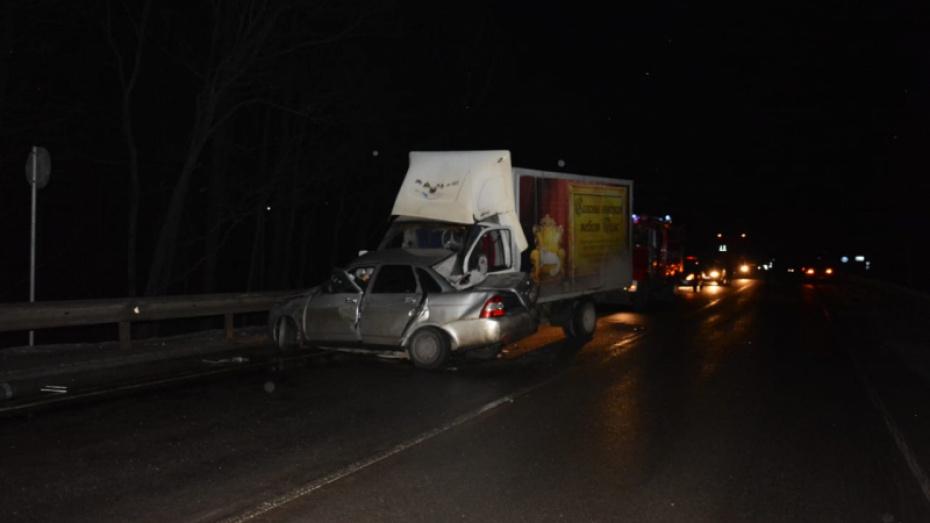 В Грибановском районе возбудили дело после ДТП, в котором погибли 4 человека