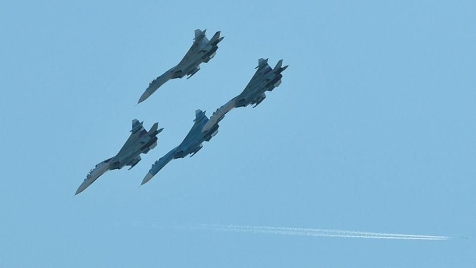 ВЗВО Су-34 отработали вывод бомбардировщиков из-под удара противника