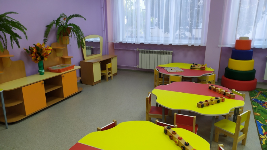 В Никольском детском саду Новоусманского района открыли 2 ясельные группы