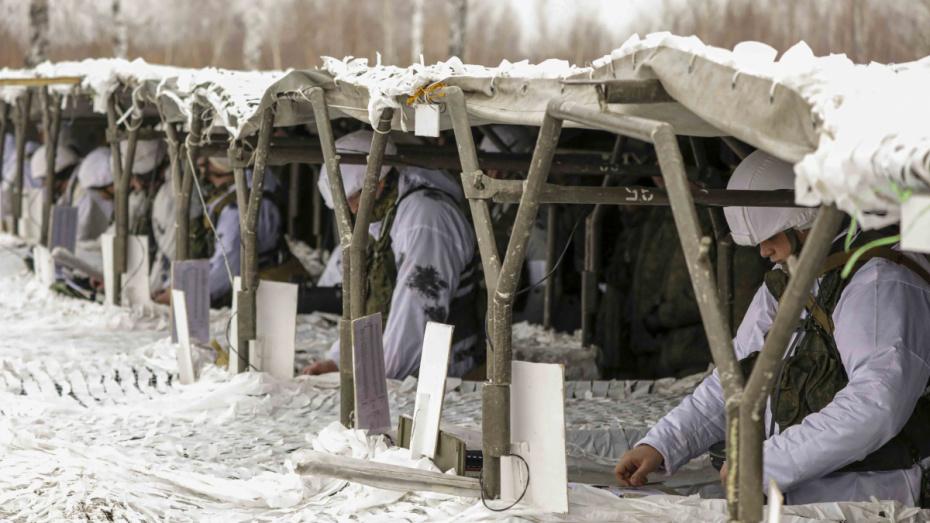В Воронежской области мотострелки обезвредили «боевиков»