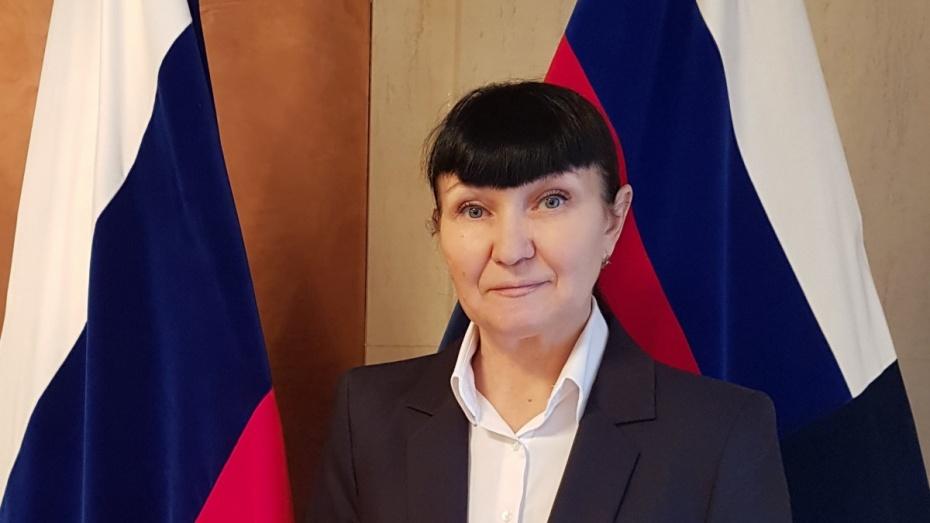Главный судебный пристав Воронежской области стала помощником прокурора