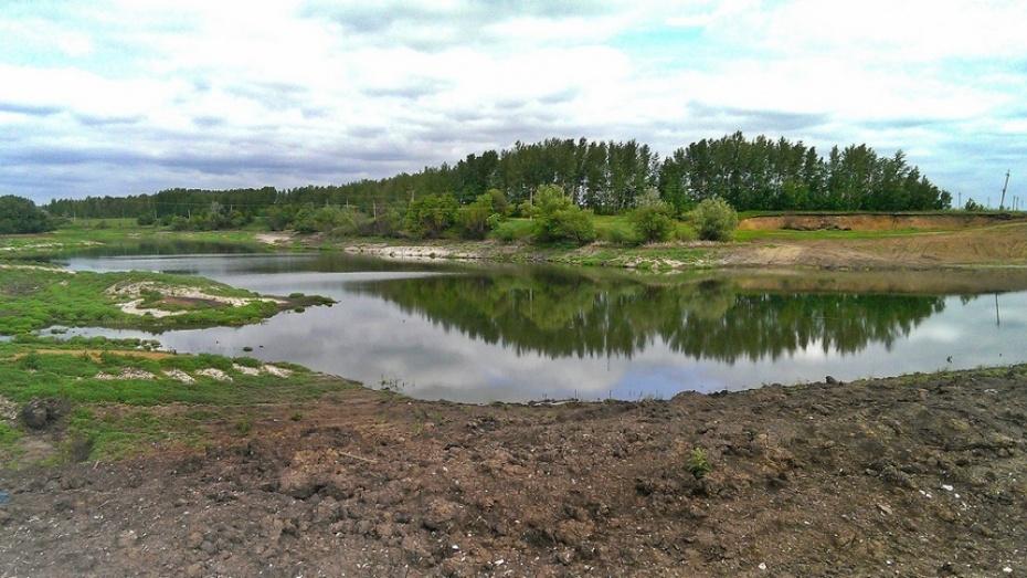 Медвеженский пруд в Семилукском районе наполнился вопреки прогнозам экологов