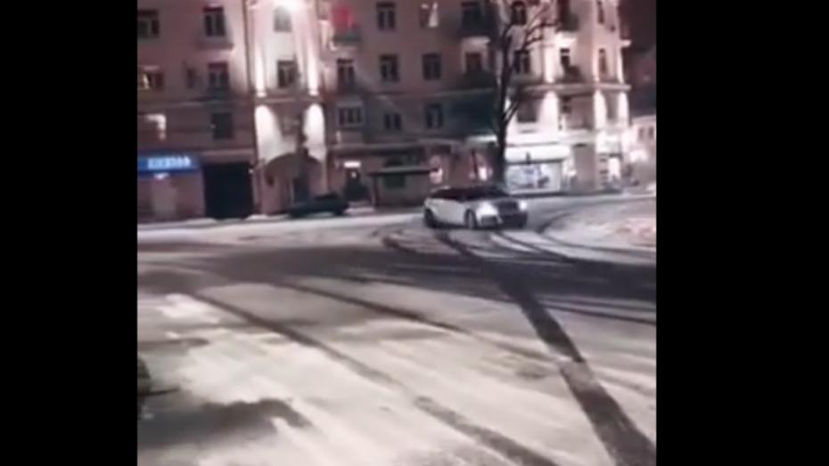 Воронежского дрифтера оштрафовали после публикации видео в Сети
