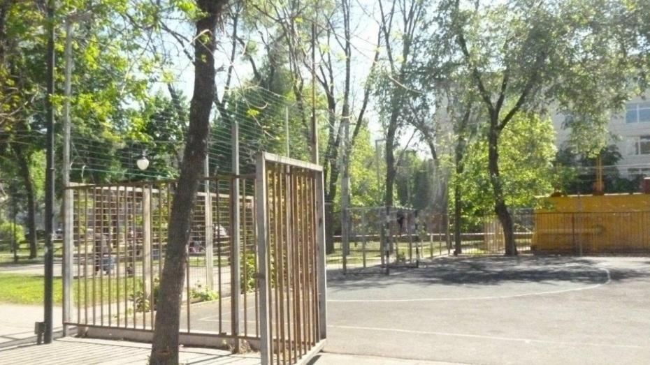 В Воронеже Комсомольский сквер на улице Кольцовской благоустроят к концу октября