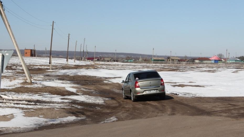 Федеральный бюджет выделили средства на строительство дороги в маленьком хуторе Новохоперского района