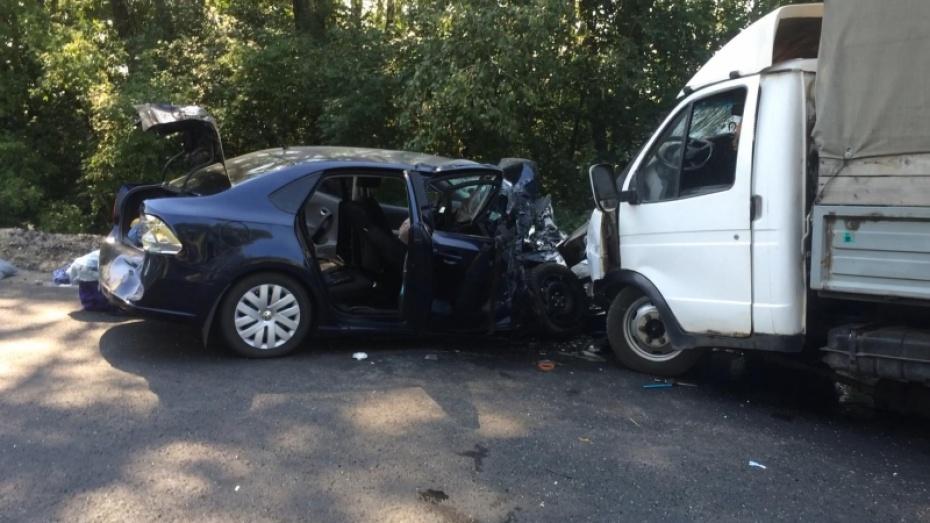 В Воронежской области в ДТП пострадали 6 человек