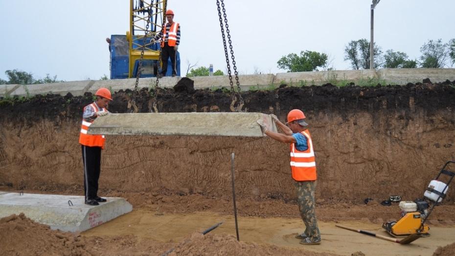 В Бутурлиновке заложили первый камень в фундамент нового здания полиции