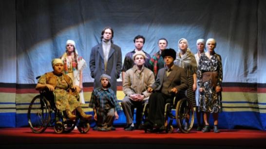 Воронежский «Театр равных» собрал аншлаг в Великом Новгороде