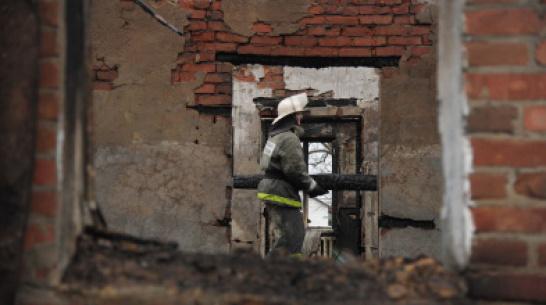 На пожаре в Воронежской области погибли пожилые супруги
