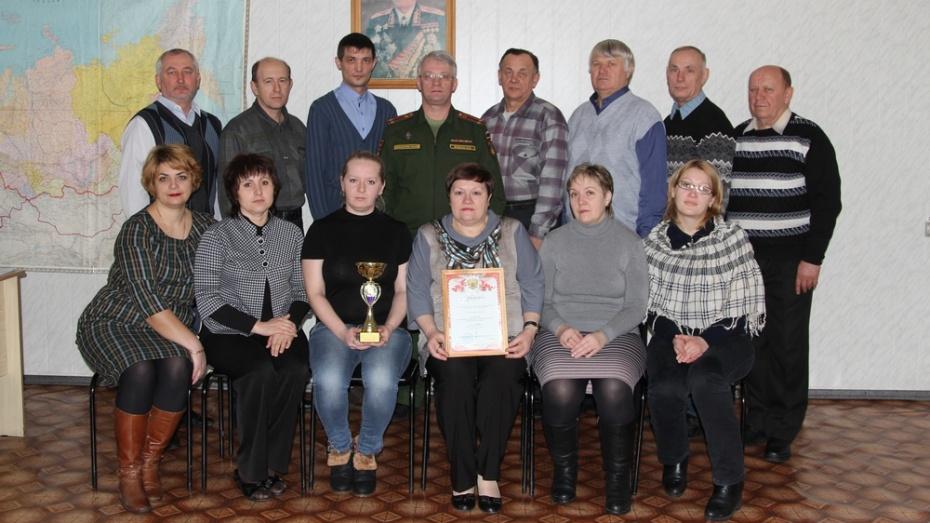 Новохоперский отдел военкомата занял первое место в области по итогам работы за год