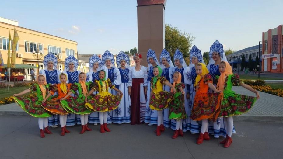 Таловские танцоры стали лауреатами международного конкурса «Вдохновение»