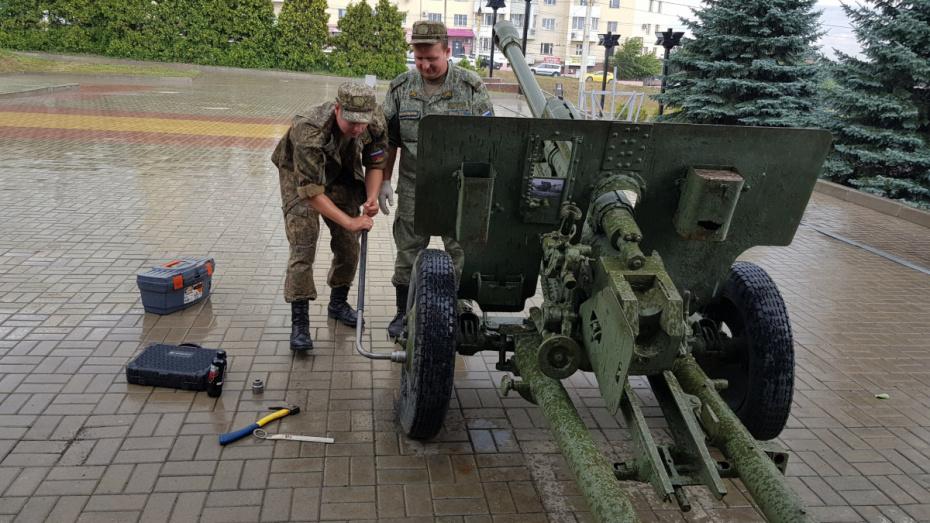 В Воронеже отреставрируют дивизионную пушку на Чижовском плацдарме