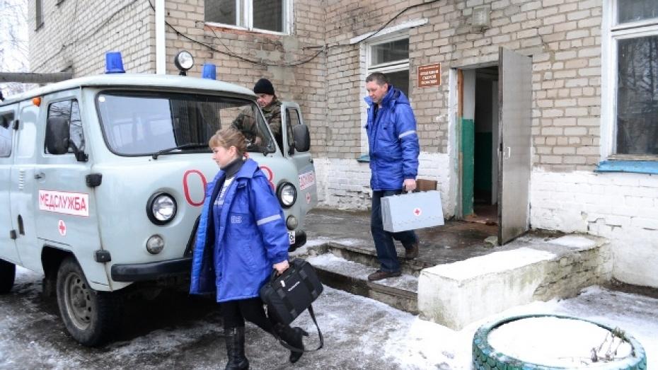 В Грибановском районе машины скорой помощи оснастили системой ГЛОНАСС