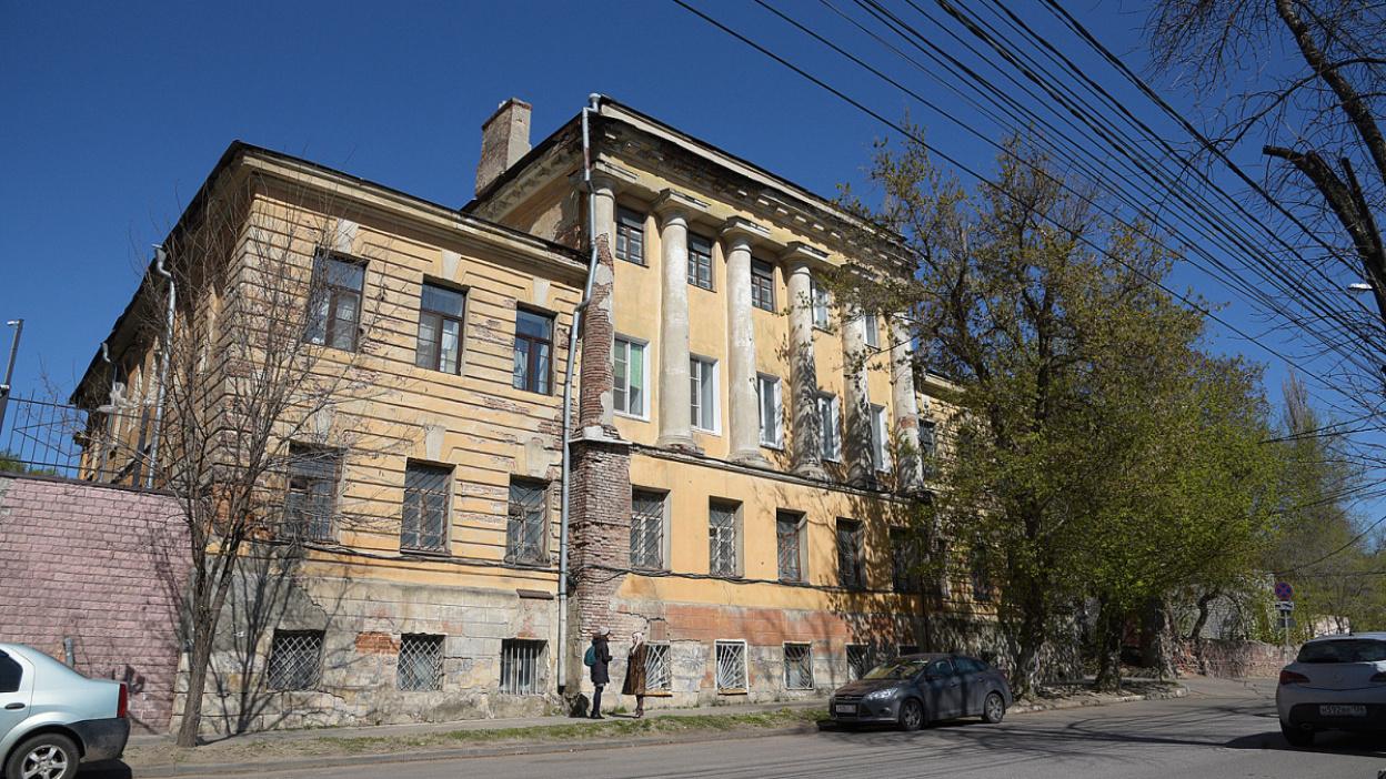 Легенды Воронежа. Дом кантонистов