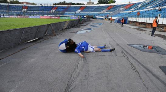 Воронежское правительство выкупит стадион «Труд»
