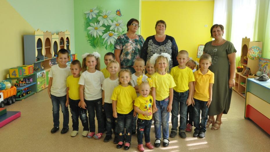 В эртильском селе Ростоши в школе разместили детский сад