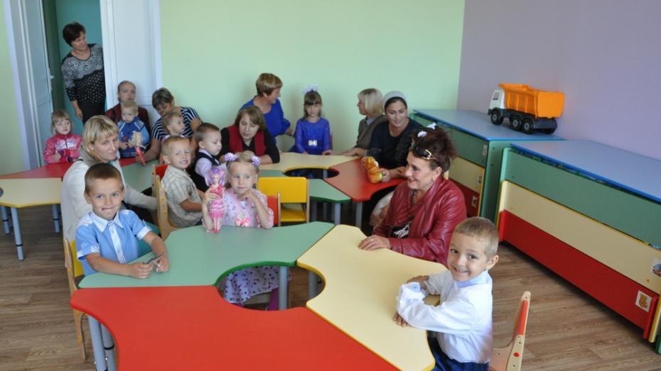 В эртильском селе Битюг-Матреновка детсад перевели в здание школы
