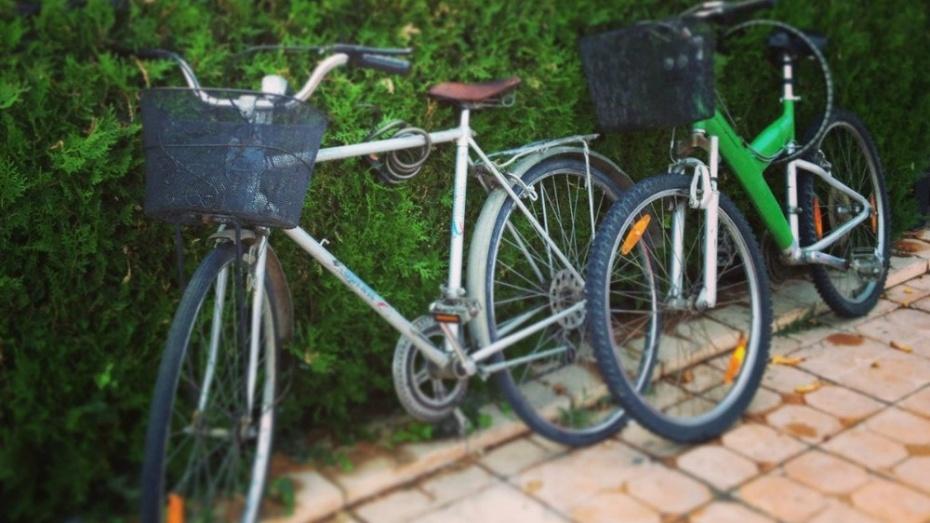 В Лисках неизвестные похитили со двора жилого дома 2 велосипеда