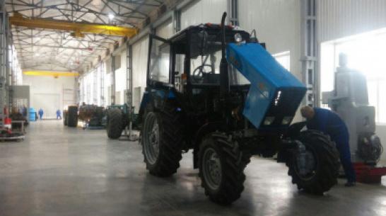 В предприятие по ремонту тракторов в Воронежской области вложат 100 млн рублей