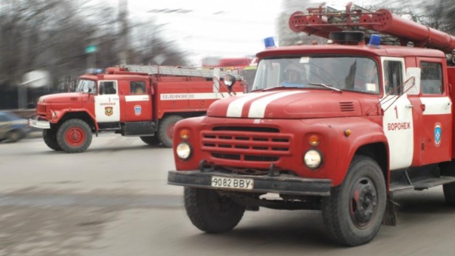 В Воронеже из-за пожара в жилом доме эвакуировали 18 человек