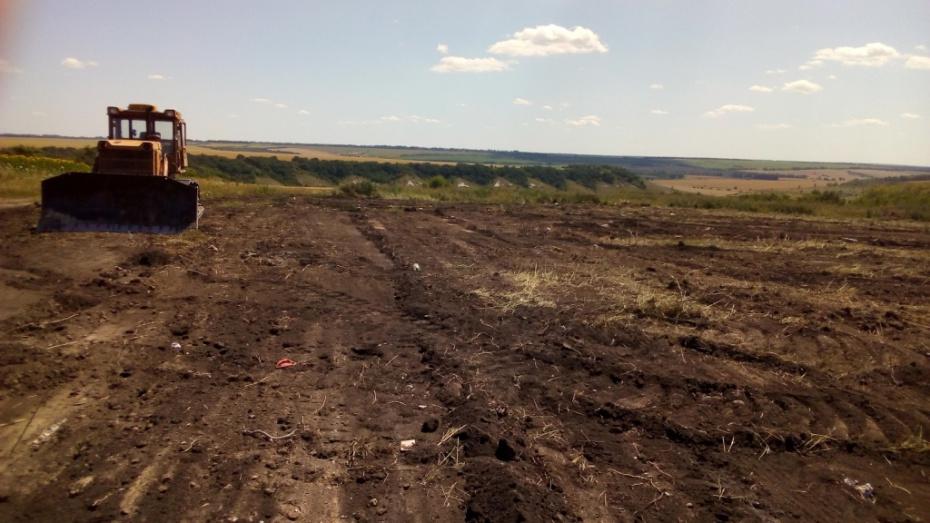 В Верхнемамонском районе ликвидировали 16 несанкционированных свалок
