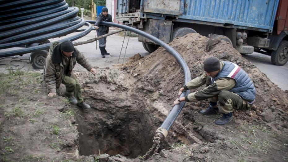 В лискинском селе Аношкино на реконструкцию водопровода потратят более 50 млн рублей