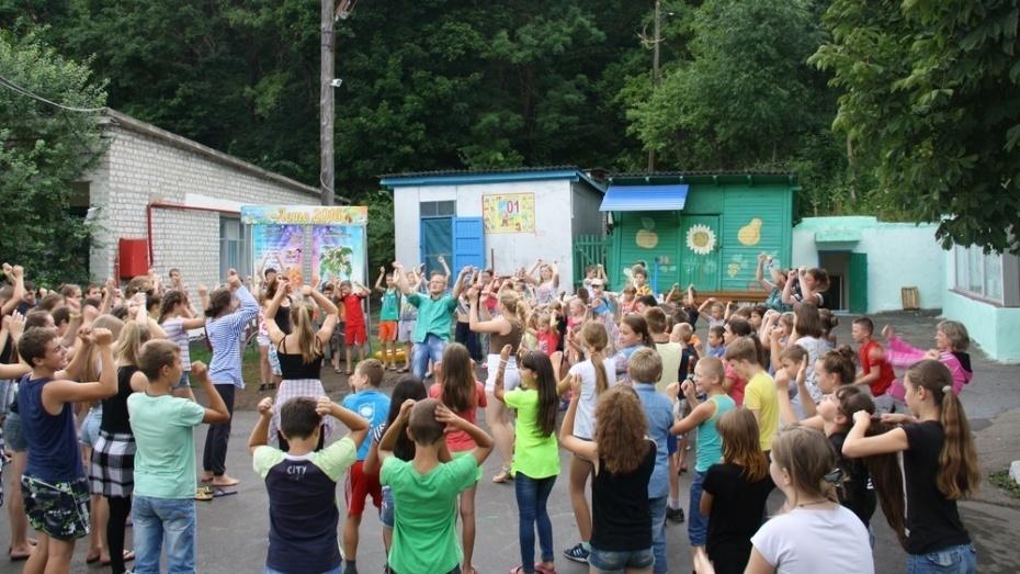 В детских лагерях Воронежа отдохнули более 5 тыс детей